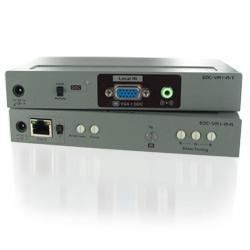 EDID対応 VGA&オーディオ延長器