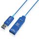 USB3 Visionカメラ用 USB3.0 アクティブ光延長ケーブル(Aオス・Aメス)