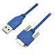 USB3 Visionカメラ用 USB3.0 ウルトラスリムケーブル(Aオス・マイクロBオス)
