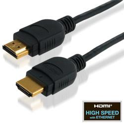 ロックタイプイーサネット対応ハイスピードHDMIケーブル